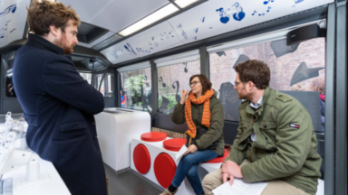 Hub.brussels lance un infobus pour répondre aux questions des commerçants et entrepreneurs