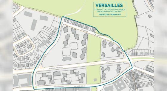 Contrat de Quartier Durable Versailles - Ville de Bruxelles
