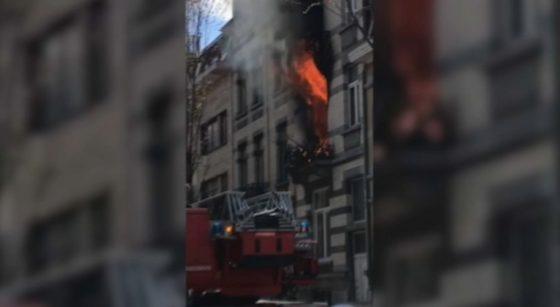 Incendie Laeken 05052021 - Capture Belga Vidéo