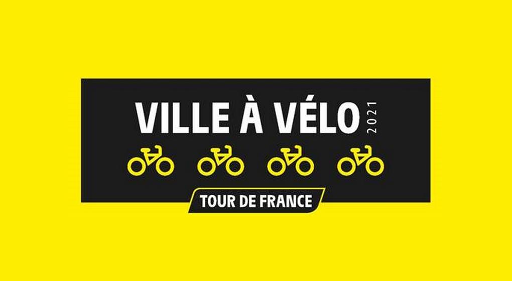 Logo - Ville à vélo Tour de France