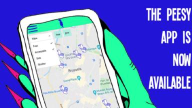 Peesy, l'appli gratuite pour trouver les toilettes publiques à Bruxelles