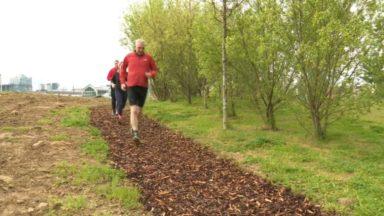 Tour & Taxis : une nouvelle piste finlandaise inaugurée pour les joggeurs