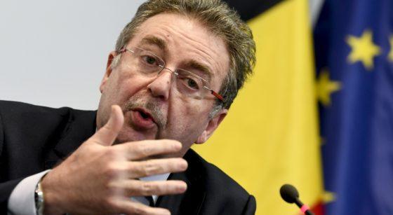 Rudi Vervoort Comité de Concertation - Belga Frédéric Sierakowski