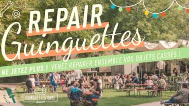 Les guinguettes bruxelloises vont accueillir des Repair Cafés cet été