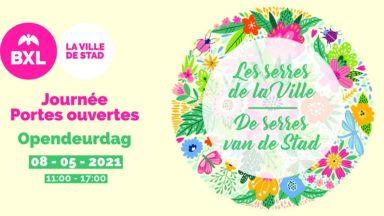 Les serres de la Ville de Bruxelles s'ouvrent au public ce samedi