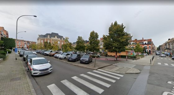 Uccle Place Jean Vander Elst - Capture Google Street View