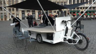 Le Babbeleir : le vélo-cargo pour aller à la rencontre des Bruxellois