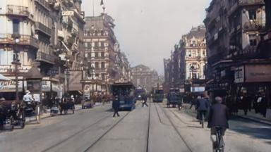 À quoi ressemblait Bruxelles en 1908 ? Un internaute hollandais restaure des archives
