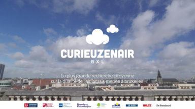 """""""Curieuzenair"""" : la qualité de l'air à Bruxelles au cœur d'une recherche inédite de science participative"""