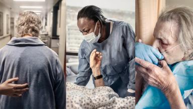 """Avec son projet photo """"Les Veilleuses"""", l'hôpital Erasme rend hommage aux soignants"""