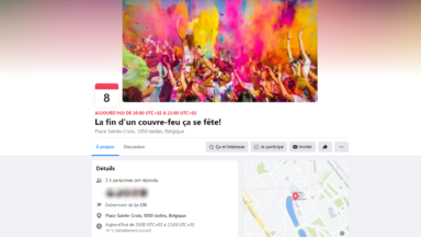 Ixelles : un nouvel événement par les organisateurs de La Boum 2, samedi soir