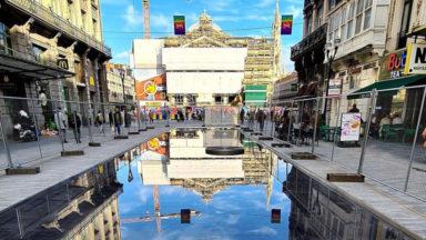 Piétonnier : la ville se reflète dans un nouveau miroir d'eau