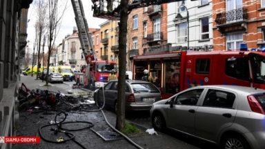 Feu de maison à Laeken : deux enfants sont décédés