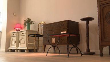 Ville de Bruxelles : un nouveau pop-up store dédié aux meubles et vêtements recyclés