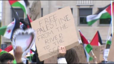 3.000 personnes manifestent à Bruxelles en soutien aux palestiniens