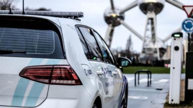 Trois voitures saisies après un rodéo urbain au Heysel