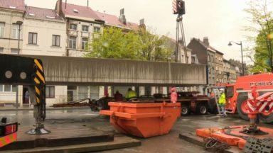 Infrabel renouvelle 20 km de voies et remplace deux ponts métalliques datant de 1928