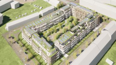 Anderlecht: 466 nouveaux logements bientôt dans le quartier des Trèfles
