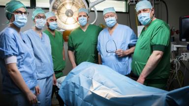 Trois hôpitaux, dont l'UZ Brussel, s'associent pour créer un centre de chirurgie pédiatrique
