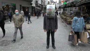 """L'""""Oasis portable"""" ou la folle invention de l'artiste plasticien Alain Verschueren"""