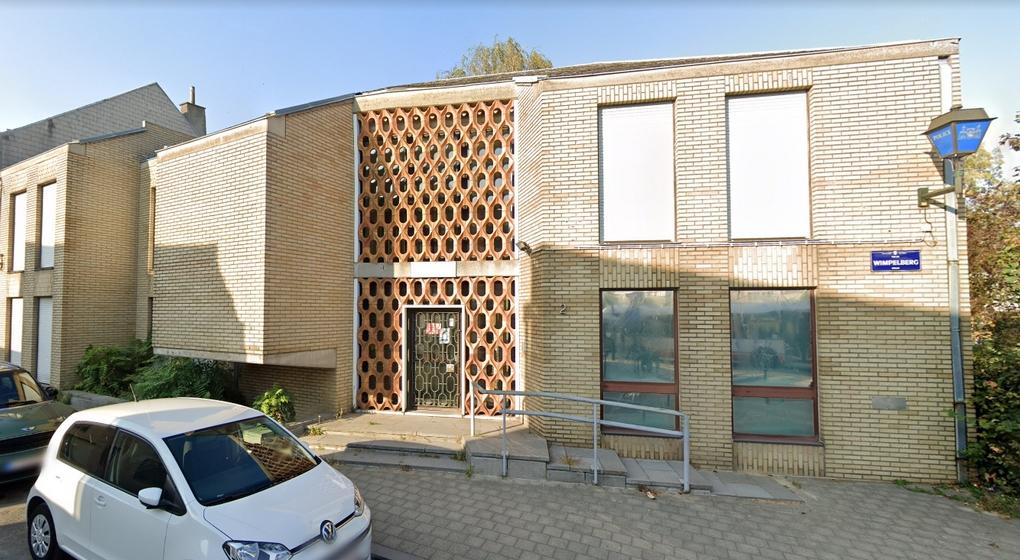 Ancien commissariat RUe du Wimpelberg Neder-Over-Heembeek - Capture Google Street View