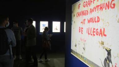 Banksy s'expose dès ce jeudi à Bruxelles