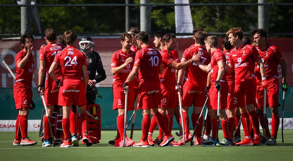 Belgian Red Lions Belgique Hockey sur gazon - Belga Virginie Lefour - Mai 2021
