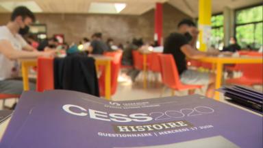 Les élèves de rhéto passent le CESS, après une année scolaire très compliquée