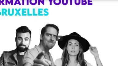 Bruxelles Formation lance des cours pour devenir Youtubeur