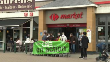 Des arrêts de travail dans plusieurs supermarchésCarrefourà Bruxelles