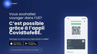 CovidSafe : les mineurs peuvent désormais télécharger leur certificat Covid