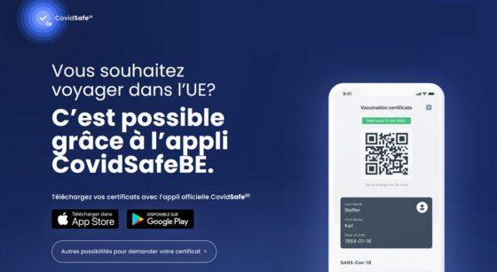 Certificat CovidSafe Application - Google iOS