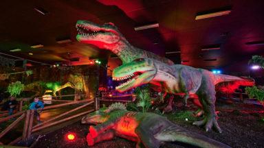 L'exposition Dino World prolongée jusqu'en novembre à Brussels Expo
