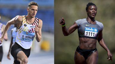 Athlétisme : Dylan Borlée et Anne Zagré en bonne voie pour les Jeux Olympiques