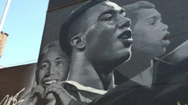 Anderlecht : une fresque dédiée à Youri Tielemans