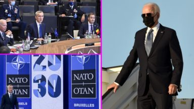 Sommet de l'OTAN et visite de Joe Biden à Bruxelles : les perturbations prévues jusqu'à mardi