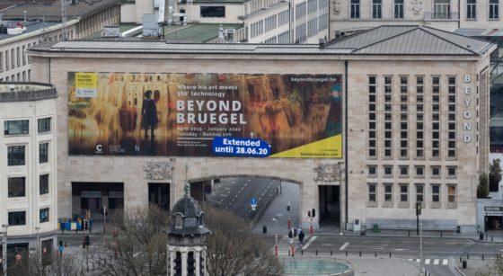 Palais de la Dynastie - Expo Bruegel - Belga Benoit Doppagne