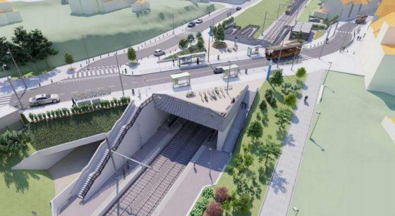 Pont Gare Saint-Job Uccle - Infrabel