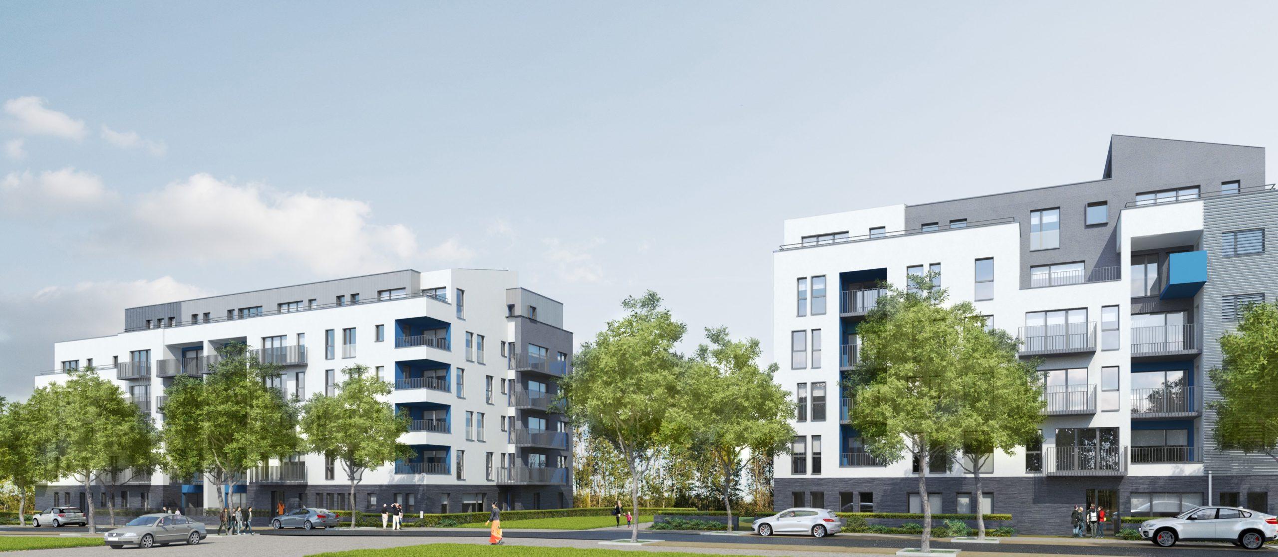 Projet Erasme Anderlecht - Plan 3D ADE Architects