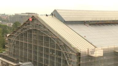 La rénovation des toitures des musées du Cinquantenaire avance bien