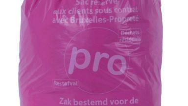 Les sacs-poubelles de 120 L pour les professionnels ont disparu