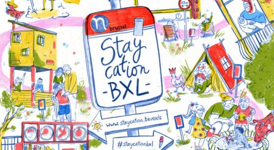 Staycation BXL - Logo 2021