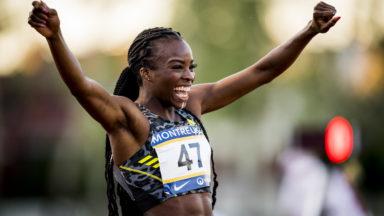 La Bruxelloise Cynthia Bolingo pulvérise le record de Belgique du 400m