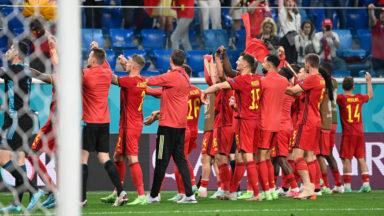 Euro : pour son premier match, la Belgique s'est imposée 3-0 face à la Russie