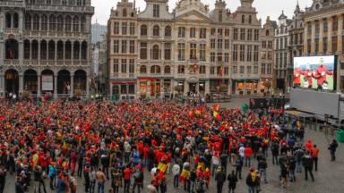 Les écrans géants bientôt de retour à Bruxelles, pour la suite de l'Euro ?