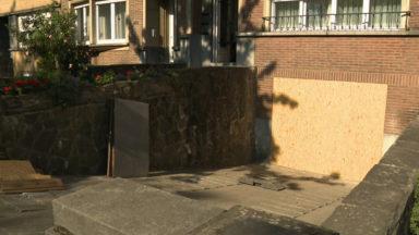 Anderlecht : la fuite d'eau au boulevard Mettewie a causé des dégâts aux habitations