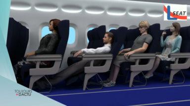 LSeat, une solution bruxelloise pour voler plus confortablement en classe éco