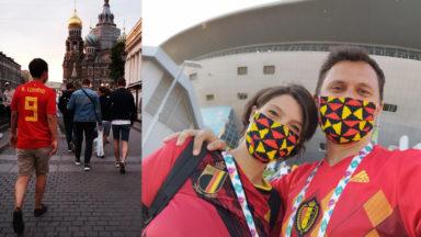 Ces Bruxellois étaient à Saint-Pétersbourg samedi : ils racontent leur folle expérience