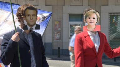 Des manifestants dénoncent le sommet de l'OTAN qui débute lundi