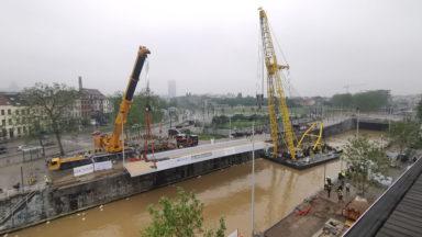 Deux nouveaux ponts pour traverser le canal, financés par Beliris